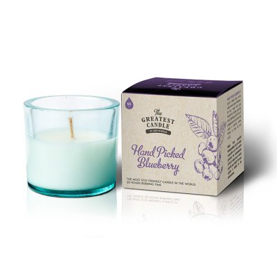 The Greatest Candle Återvunnet ljus Blueberry 75g