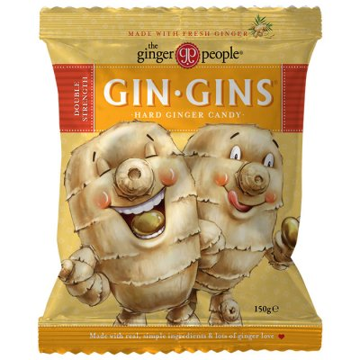 Ginger People Gin Gins Double Strength Hard Candy 150g
