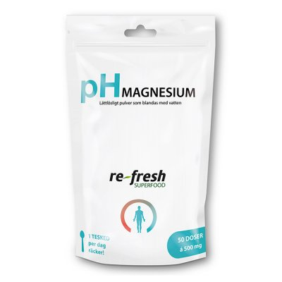 Re-fresh pH-Pulver Magnesium 100g