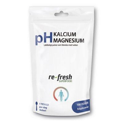 Kalcium och magnesiumpulver