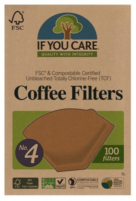 If You Care Kaffefilter No. 4 100 st
