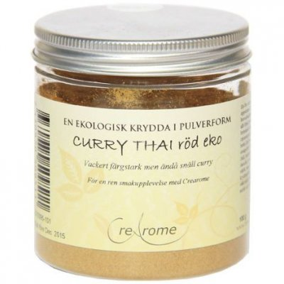 Crearome Curry Thai röd eko 50 g