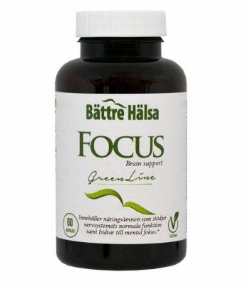 tabletter för bättre koncentration