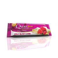 Questbar White chocolate rasberry 60 g