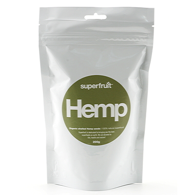 Superfruit Hemp Seeds EKO 200 g