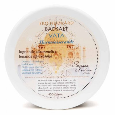 Senses by Nature Badsalt Vata harmoniserande 450 g