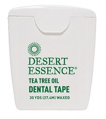 Desert Essence Tea Tree Oil Dental Tape 30 Yds (27,4M)