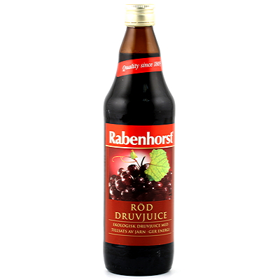 Rabenhorst Röddruvjuice 750 ml
