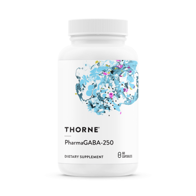 Thorne Research PharmaGABA-250 60 kapslar