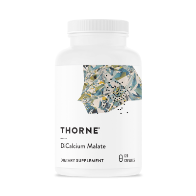 Thorne Research DiCalcium Malate 120 kapslar