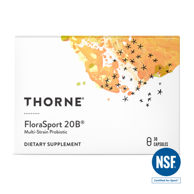 Thorne Research FloraSport 20 30 kapslar