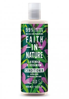 Faith in Nature Lavendel & Geranium Balsam 400 ml