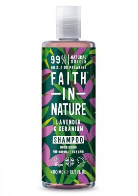 Faith In Nature Lavendel & Geranium Schampo 400 ml