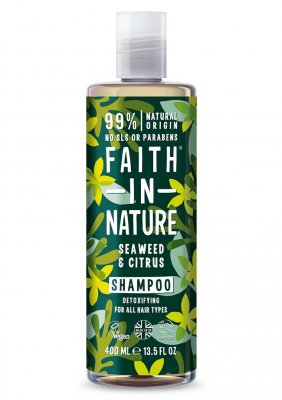 Faith in Nature Sjögräs & Citrus Schampo 400 ml