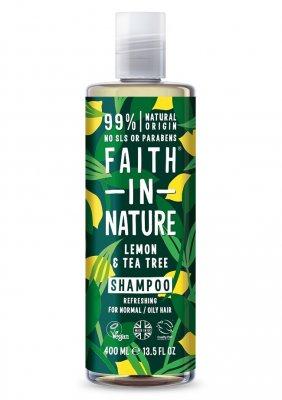 Faith In Nature Citron   Tea Tree Shampoo 400 ml - Schampoo ... 38a57b5373dfe