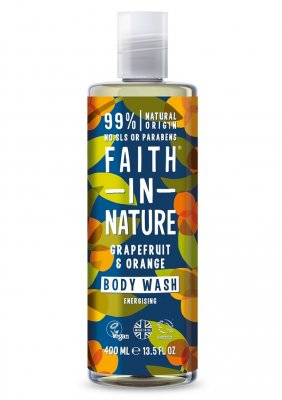 Faith in Nature Grapefrukt & Apelsin Duschgel 400 ml