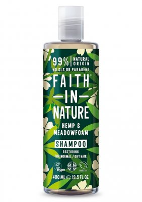 Faith in Nature Hampa Schampo 400 ml