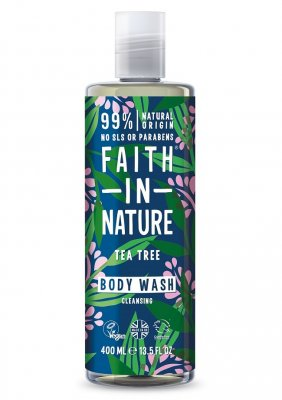 Faith in Nature Tea Tree Duschgel 400 ml
