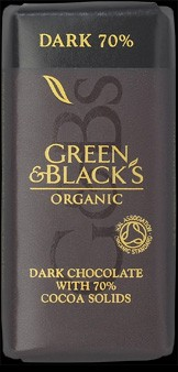 G&B's Dark Chocolate 70% Eko 35 g