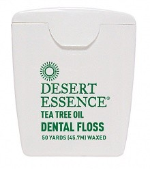 Desert Essence Tea Tree Oil Dental Floss 50 Yds (45.7M)