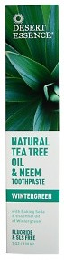 Desert Essence Tea Tree Oil & Neem Toothpaste 176 g