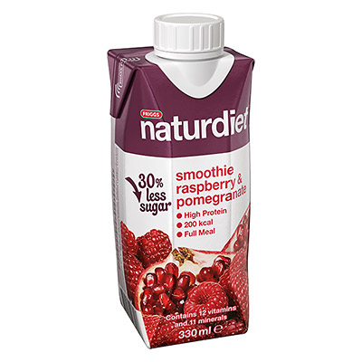 Smoothie Raspberry & Pomegranate 330ml