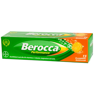 Berocca Performance 15 brustabletter