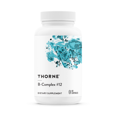 Thorne Research B-Complex B12 60 kapslar