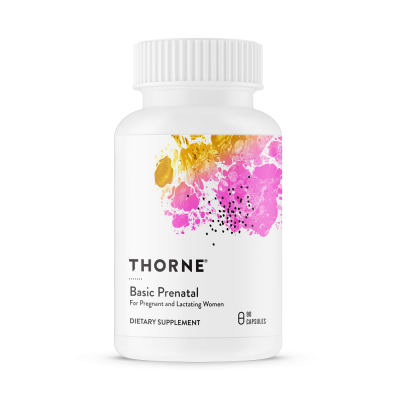 Thorne Research Basic Prenatal 90 kapslar