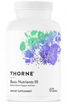 Thorne Research Basic Nutrients III 180 kapslar