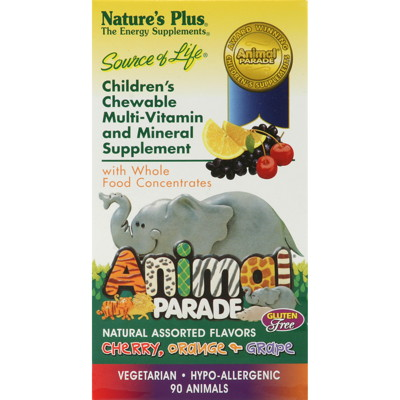 Animal Parade Multivitamin och Mineral 90 tuggtabletter