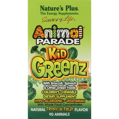 Animal Parade KidGreenz 90 tuggtabletter