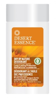 Desert Essence Dry by Nature Deodorant 70 ml