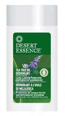 Desert Essence Tea Tree Oil Deodorant with Lavender 70 ml