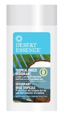 Desert Essence Tropical Breeze Deodorant 70 ml