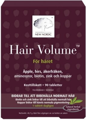New Nordic Hair Volume 90 tabletter