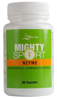 Alpha Plus Mighty Sport Nzyme 60 kapslar