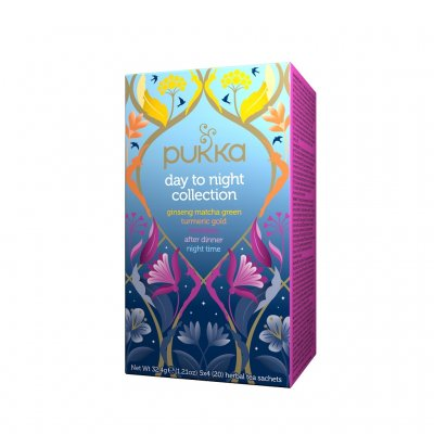 Pukka Day to Night Collection 20 tepåsar