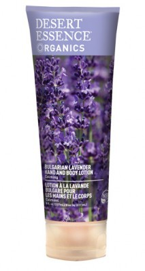 Desert Essence Bulgarian Lavender Hand and Body Lotion 237 ml
