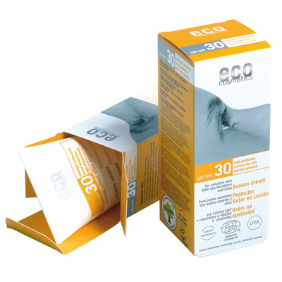 Eco Cosmetics Solkräm SPF30 Eko 75 ml