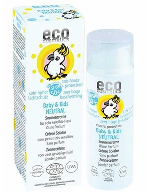 Eco Cosmetics Baby Solkräm Neutral SPF50+ 50 ml