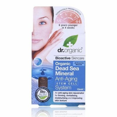 Dr.Organic Dead Sea Minerals Stem Cell Anti-Ageing System 15 ml