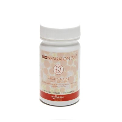 Bio Nutrition BIO SUPERFOOD BSF F3 60 Kapslar