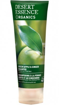 Desert Essence Green Apple & Ginger Shampoo 237 ml