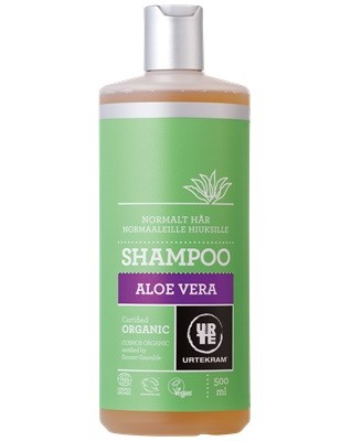 Urtekram Aloe Vera Schampo Normal Eko 500 ml