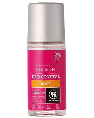 Urtekram Rose Deo Roll on Eko 50 ml