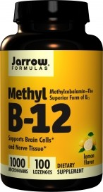 Jarrow B-12 Methyl 100 tabletter