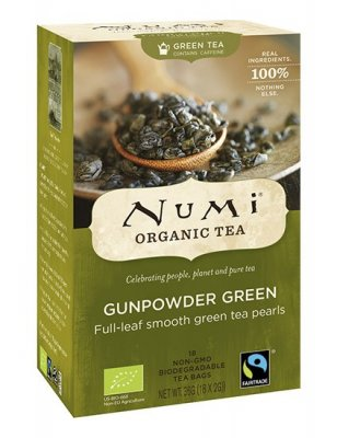 Numi Gunpowder Green Eko 18 tepåsar