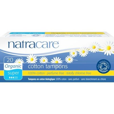 Natracare Tampong Super 20 st