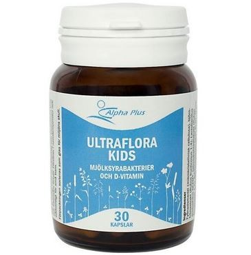 Alpha Plus UltraFlora Kids 30 kapslar
